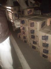 बालाघाट से गोंदिया जा रही थी देशी शराब - नहीं रूक रही तश्करी