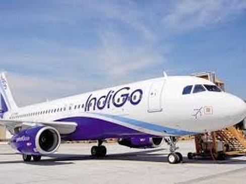 फ्लाइट में बुुजुर्ग की तबीयत बिगड़ी , इमरजेंसी लैंडिंग, बंगलुरु से चंडीगढ़ जा रहा था इंडिगो विमान