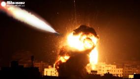 Air Strike: रॉकेट अटैक के बदले इजराइलने हमास केठिकानों पर किया हवाई हमला