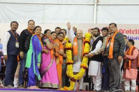 जबलपुर : नागरिकता संशोधन एक्ट के समर्थन में अमित शाह की रैली