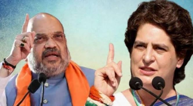 जामिया: प्रियंका ने कहा- भाजपा नेता उकसाएंगे तो ऐसा ही होगा, शाह बोले- कड़ी कार्रवाई करेंगे, ऐसी घटना बर्दाश्त नहीं