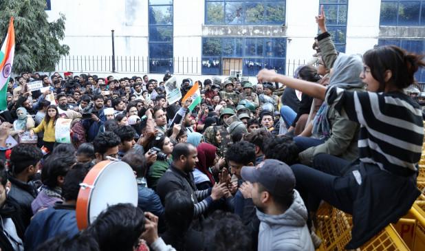 राजघाट नहीं पहुंच सके जामिया के छात्र