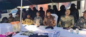 झारखंड : चंदवा में 7 नक्सली गिरफ्तार, 5 लाख रुपये बरामद
