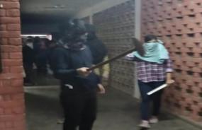 JNU: नकाबपोशों ने छात्रों, शिक्षकों पर हमला किया, जेएनयूएसयू अध्यक्ष समेत कई घायल