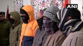 J&K: जैश के 5 आतंकी श्रीनगर से गिरफ्तार, गणतंत्र दिवस पर घाटी में करने वाले थे ग्रेनेड से हमला