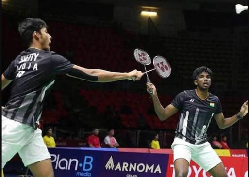 Malaysia Masters: सात्विक और चिरागकी जोड़ी टूर्नामेंट से बाहर