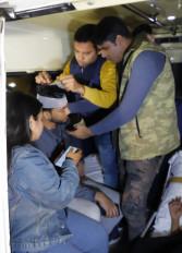 प्रदर्शन में शामिल जेएनयू के कई छात्र हुए जख्मी