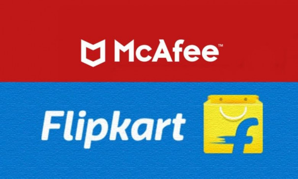 सुविधा: मैकफे ने Flipkart से की पार्टनरशिप, अब ऑनलाइन खरीद सकेंगे एंटीवायरस