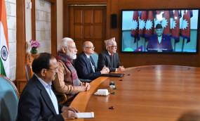 मोदी ने भारत-नेपाल की विरासत पर दिया जोर