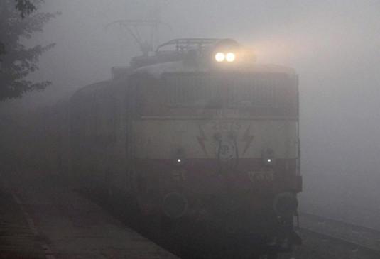 नागपुर :रेल पर कोहरे की मार, 6 दिन में 1 करोड़ 26 लाख की टिकट हुई कैंसिल