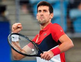 टेनिस : जोकोविच ने सर्बिया को एटीपी कप के फाइनल में पहुंचाया