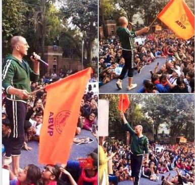 Fake News: क्या जेएनयू विवाद में ABVP के साथ है अक्षय कुमार? फोटो वायरल