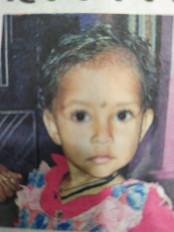 किसी करीबी ने ही किया है बच्ची का अपहरण - पुलिस का अनुमान