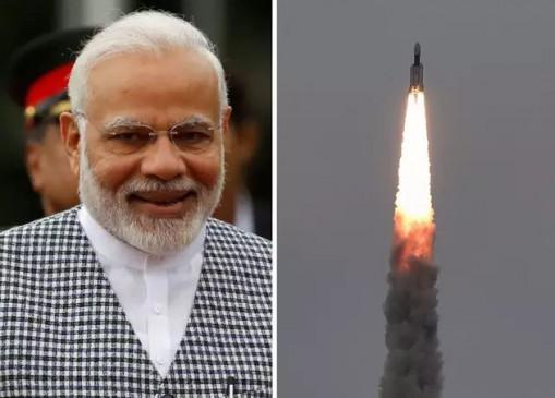 GSAT-30: सैटलाइट की सफल लॉन्चिंग परPM मोदी ने ISRO को दी बधाई