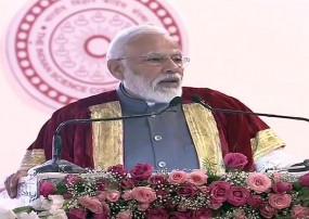 विज्ञान कांग्रेस: पीएम मोदी बोले- भारत के समाज को जोड़ने का काम साइंस ने किया