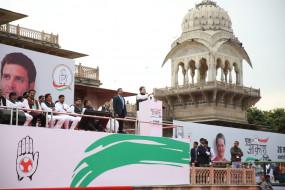 राहुल जयपुर रैली में सीएए, एनआरसी पर चुप्पी साधे रहे