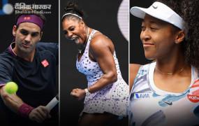 टेनिस: रोजर फेडरर ऑस्ट्रेलियन ओपन के दूसरे राउंड में, सेरेना, ओसाका और गॉफ भी अगले दौर में पहुंची