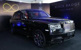 लग्जरी कार: Rolls-Royce ने भारत में लॉन्च की Cullinan Black Badge, कीमत 8.2 करोड़