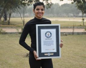 Award : कश्मीर सेकन्याकुमारी तक दौड़कर दिया एकता का संदेश, मिला गिनीज वर्ल्ड रिकॉर्ड का खिताब