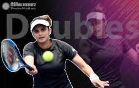 Hobart International: सानिया का विजय रथ जारी, डबल्स के सेमीफाइनल में पहुंचीं