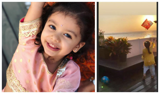 Makar Sankranti: शाहिद और मीरा की बेटी ने सेलिब्रेट किया फेस्टिवल, उड़ाई पतंग