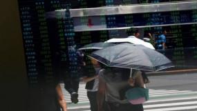 Share market today: सेंसेक्स 315 अंक लुढ़का, निफ्टी 12,000 के नीचे