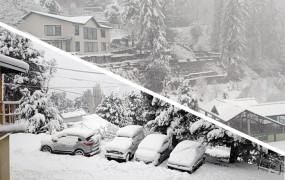 Snowfall: उत्तर भारत में सर्दी का प्रकोप, हिमाचल के 8 जिलों में 4 फीट तक बर्फ जमी, 588 सड़कें बंद