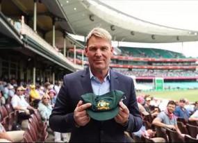 ऑस्ट्रेलिया आग: प्रभावितों की मदद के लिए वॉर्न नीलाम करेंगे अपनी सबसे प्यारी 'बैगी ग्रीन कैप'