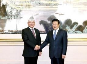 चीन के स्टेट काउंसलर की नेपाल के आंतरिक मंत्री से मुलाकात