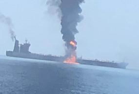यूएई तट पर टैंकर में लगी आग, 2 भारतीय नाविकों की मौत