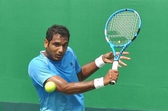 टेनिस : कैनबरा इंटरनेशनल में प्रजनेश जीते, रामकुमार हारे
