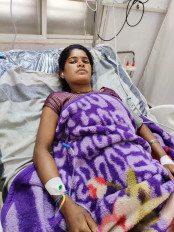 पेट में तैर रहा था बच्चा, दो घंटे की सर्जरी कर बचाई महिला की जान