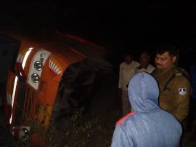 परिचालक को ट्रक ने रौंदा, मौत- माड़ा थाना के अमिलिया घाटी सडक़ पर हुई घटना