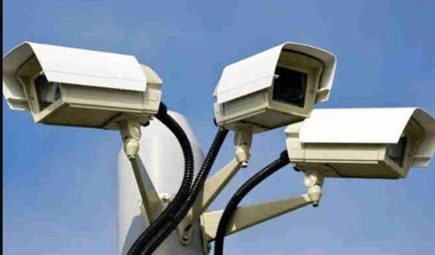3800 सीसीटीवी के माध्यम से पूरे शहर में ट्रैफिक की निगरानी कर रही है ट्रैफिक पुलिस