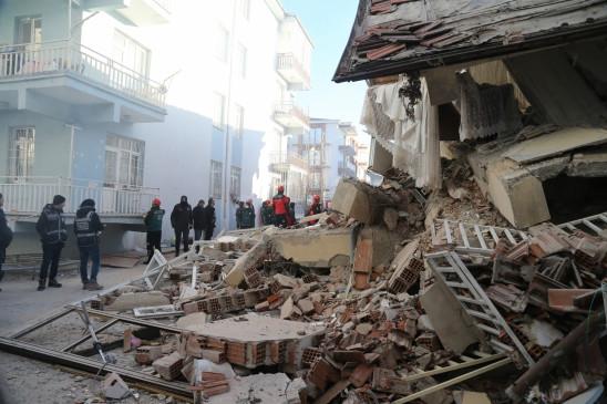 तुर्की में भूकंप से मरने वालों की संख्या 36 हुई
