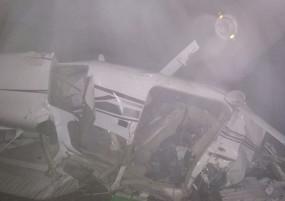 दुर्घटना: मध्य प्रदेश के सागर में क्रैश हुआ ट्रेनिंग विमान, दो ट्रेनी पायलटों की मौत