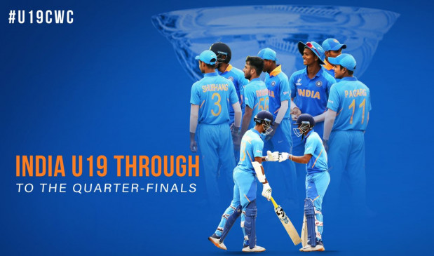 U-19 WC: भारत ने न्यूजीलैंड को हराकर लगाई जीत की हैट्रिक, क्वार्टर फाइनल में ऑस्ट्रेलिया से चुनौती