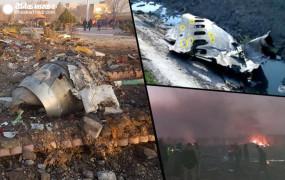 हादसा: तेहरान के पास यूक्रेन का विमान क्रैश, 170 यात्रियों की मौत