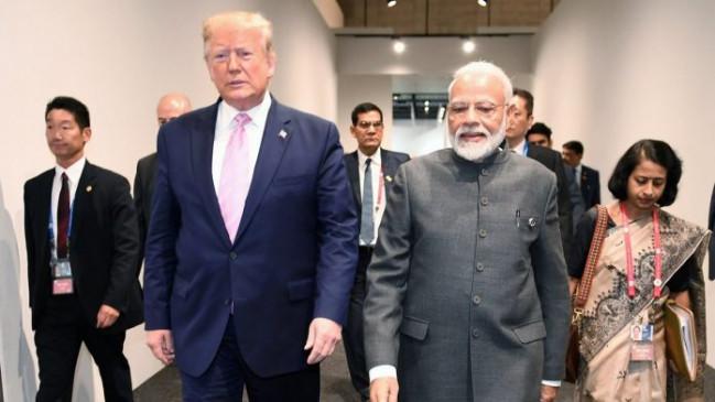 विजिट : फरवरी में ट्रंप आ सकते हैं भारत, तारीखों पर हो रहा मंथन