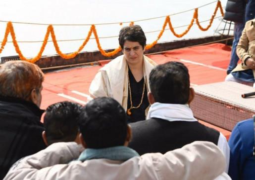 वाराणसी: प्रियंका गांधी ने कहा- कांग्रेस सरकार बनी तो हटा देंगे CAA और NRC