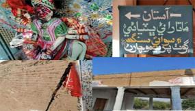 पाकिस्तान: सिंध प्रांत में मंदिर पर जिहादियों का हमला, मूर्ति व पवित्र ग्रंथ खंडित