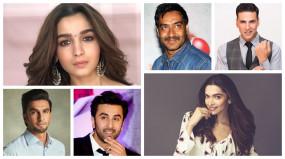 Bollywood 2020: मेकर्स ने इन स्टारों पर लगाया करोड़ों का दांव, टॉप पर अक्षय-आलिया