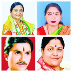 जिला परिषद सभापति चुनाव: तीन पर कांग्रेस का कब्जा, एक राकांपा के खाते में