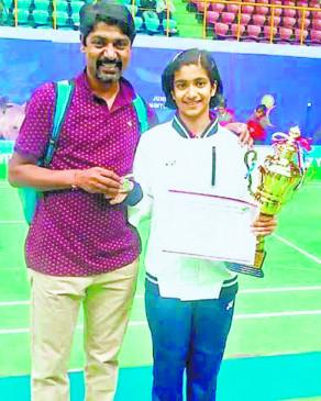 सीनियर वर्ग में भारत का प्रतिनिधित्व करेगी नागपुर की बैडमिंटन खिलाड़ी मालविका