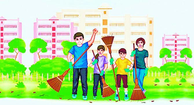 मेरा कचरा मेरी जिम्मेदारी अभियान , घरेलू कचरे से कंपोस्ट तैयार करने के दिए टिप्स
