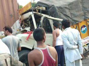 आंध्र प्रदेश: गुंटूर में ऑटो-रिक्शा और मिनी लॉरी के बीच भीषण भिडंत, 6 मौत