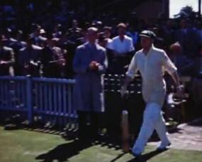डॉन ब्रैडमेन की 71 साल पुरानी रंग बिरंगी फुटेज वायरल