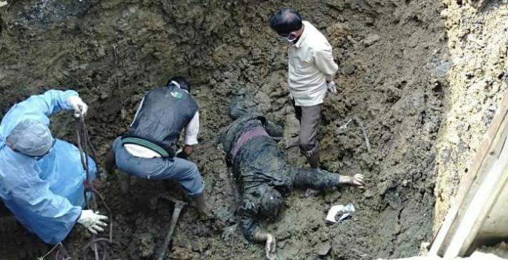 पत्नी के साथ अवैध संबंध का विरोध पड़ा भारी, हत्या कर दफना दिया गया शव