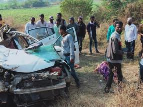 भगवान के दर्शन के लिए निकले हुए छह लोगों की दुर्घटना में मौत