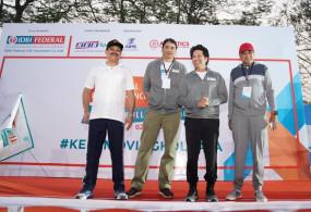 अंजलि ने कोलकाता मैराथन में लगाई स्वर्णिम हैट्रिक
